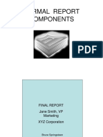 Shared - Detailed Report Writing PPTs