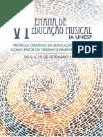 Anais Da VI Semana de Educação Musical