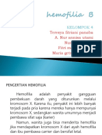 Hemofilia B PPT