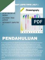 Kromatografi Lapis Tipis ( Klt )