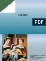 Musica in arte - Il concerto