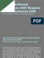 Unconventional Resources EOR