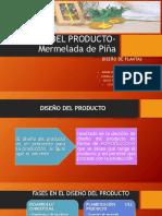 Diseño Del Producto-mermelada de Piña