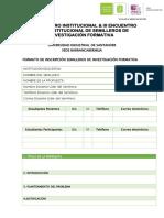 5. Formato Inscripción Propuestas de Investigación