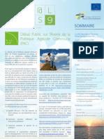 lettre d'information du Réseau européen de développement rural (REDR) « Rur@l News » (n° 9).