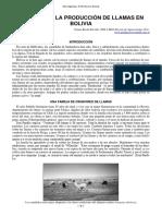71-Mejorando Produccion Llamas en Bolivia