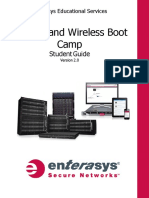 Routing and Wireless Boot Camp Student Guide Version 2.0