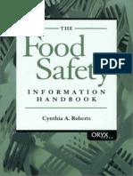 Food Safety Information Handbook - C. Roberts (Oryx, 2001) WW