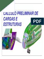 Calculo preliminar de cargas e estruturas.pdf