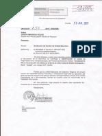 Cambio de Unidad Ejecutora - Region