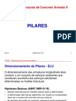 TA040 - Estruturas de Concreto Armado II - Pillares - Aula 6