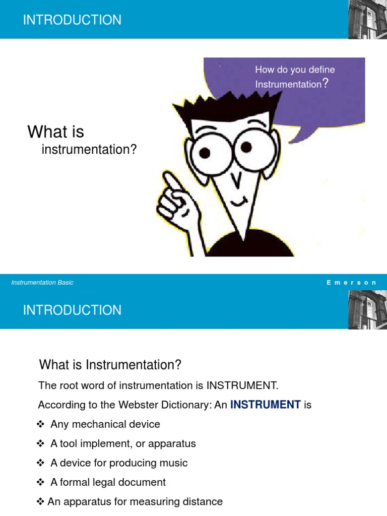 Basic Instrumentation Part 1 | Control Theory | Instrumentation