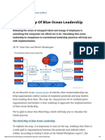 The Mind Map of Blue Ocean Leadership _ Blue Ocean Strategy