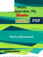 Kelompok 2 - Profil WP PT Sepatu Bata, Tbk