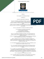 Conselho Dos Detetives Do Brasil - [Estatuto]