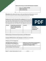 AFDB Incl. Growth Prop. - CV Format