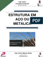 Estrutura Em Aço Ou Metálica