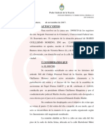 Procesaron a Guillermo Moreno por impedir una asamblea de Papel Prensa