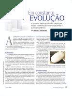 Embalagem Em Constante Evolução - Artigo Tecnico Revista c&t Tematica Jun2009
