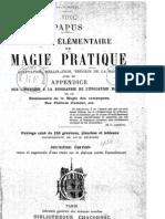 Papus - Traité élémentaire de magie pratique, 1906