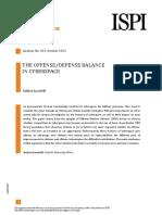 Cyber offense-defense balance