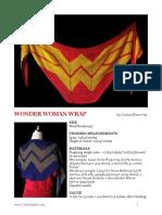 Wonder Woman Wrap Crochet