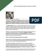 Lauridsen Aprendizaje Automático Idiomas