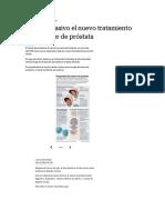 cáncer de próstata y turpi