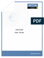 Lexicon User Guide
