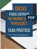 Guia Prático 5 Dicas Para Entrar No Mundo Da Tradução