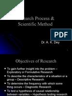 Research Process & Scientific Method