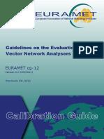 EURAMET Cg-12 v 2.0 Guidelines on Evaluation