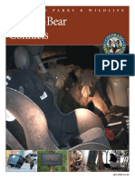 Colorado Parks and Wildlife Human-Bear Conflict Report