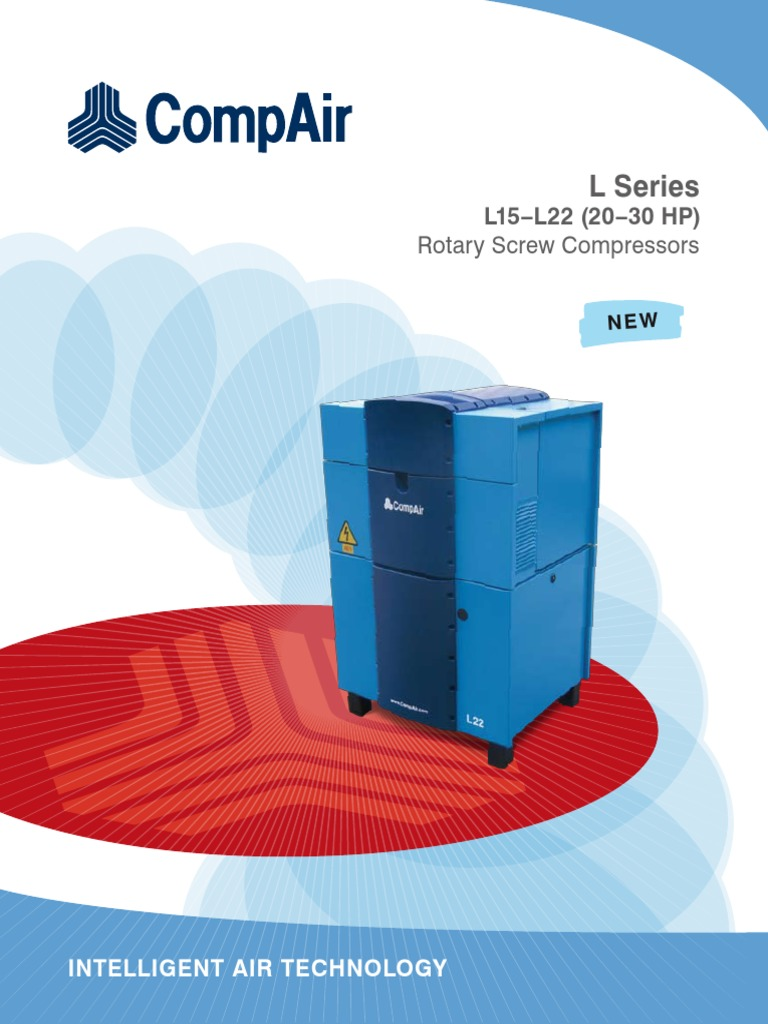 CompAir L Series L15 -L22 20 -30 HP | Manufactured Goods | Mechanical  Engineering