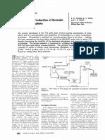 TVA Process for Production of Granular DAP 1962