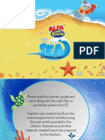 Under the Sea Science Camp Lesson Plan