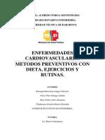 Consulta Externa Charla Enfermedades Cardiovasculares Metodos Preventivos Con Dieta Ejercicios y Rutinas