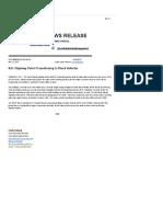 NDHP Press Release