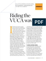 Riding the VUCA Wave (Indian Management, Nov 2017)