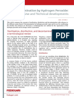White Paper Fedegari - Decontamination by Hydrogen Peroxide Use and Technicaldevelopments