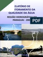 RELATORIO Monitoramento Da Qualidade Da Agua SEMA/MT