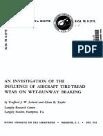 brake - wet run way