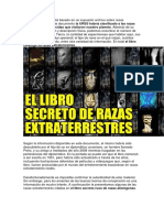 El Siguiente Escrito Está Basado en Un Supuesto Archivo Sobre Razas Extraterrestres