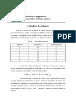 Experimento 1-Solubilidade e Termodinâmica