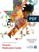 Autism Spectrum Disorder Parents Medication Guide