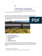 Green Roof for Storm Water Management
