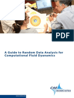 Guide to Random Data Analysis for CFD