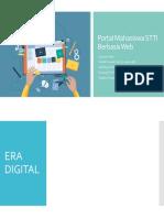 Portal Mahasiswa STTI Berbasis Web