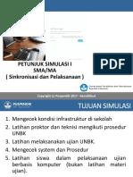 Petunjuk Simulasi 1 SMA