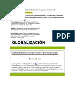 Tema 1. Globalización y Neoliberalismo